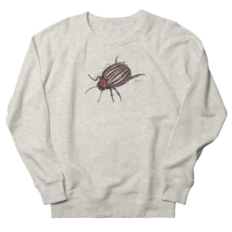 Colorado beetle Women's French Terry Sweatshirt by kouzza's Artist Shop