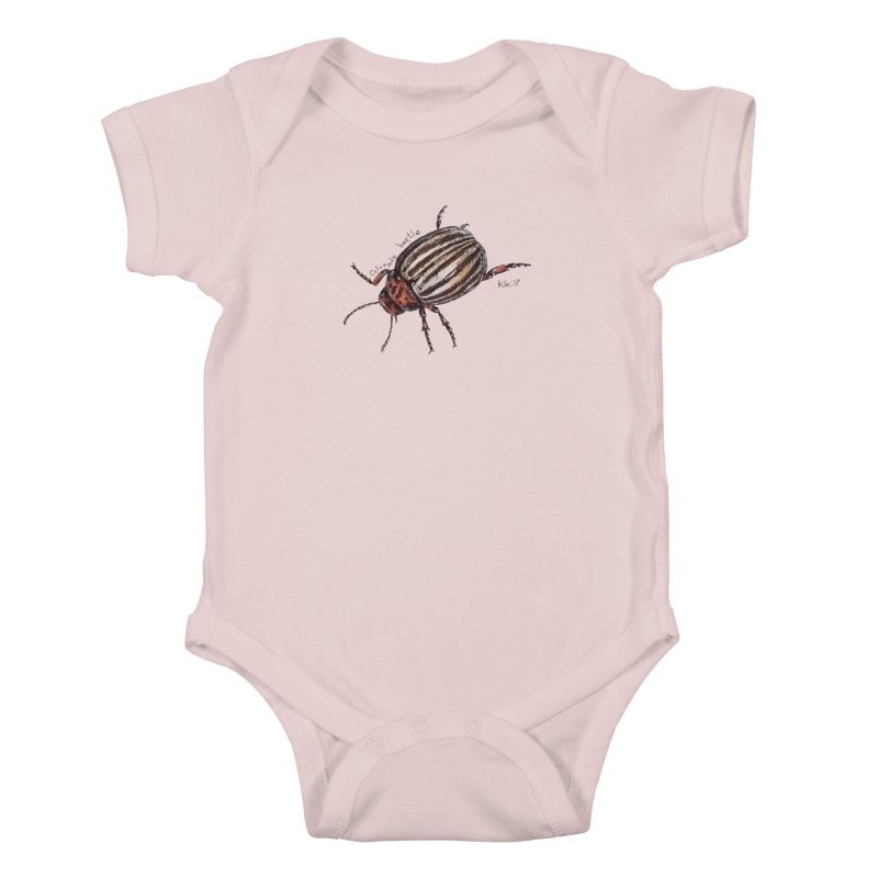 Colorado beetle Kids Baby Bodysuit by kouzza's Artist Shop