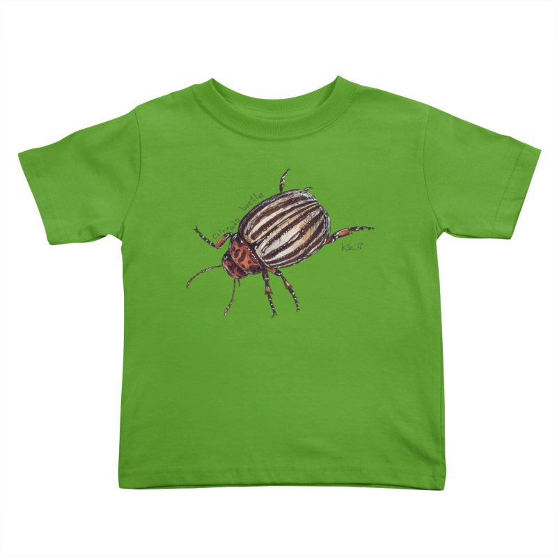 Colorado beetle Kids Toddler T-Shirt by kouzza's Artist Shop