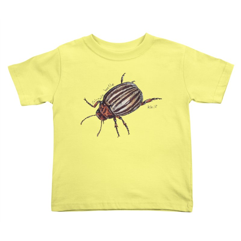 Colorado beetle Kids  by kouzza's Artist Shop