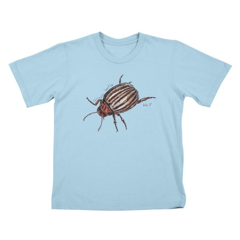 Colorado beetle Kids T-Shirt by kouzza's Artist Shop