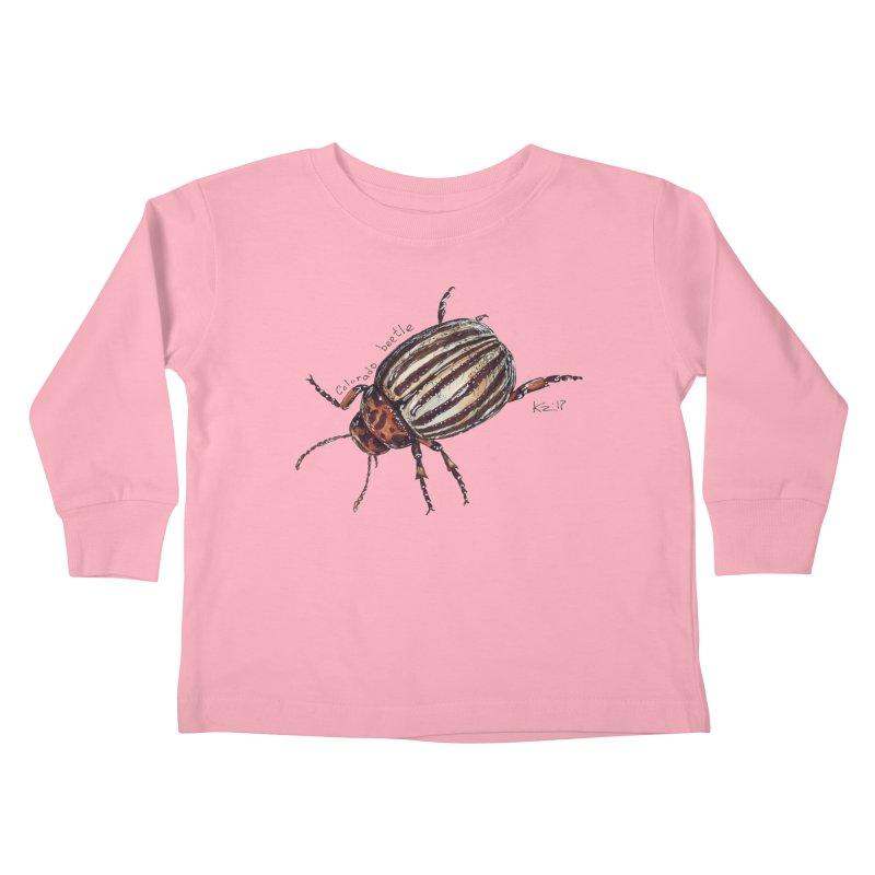 Colorado beetle Kids Toddler Longsleeve T-Shirt by kouzza's Artist Shop