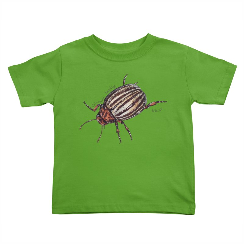 Colorado beetle Kids Toddler T-Shirt by kouzza's Artist Shop