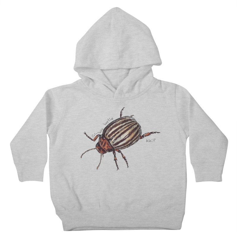 Colorado beetle Kids Toddler Pullover Hoody by kouzza's Artist Shop