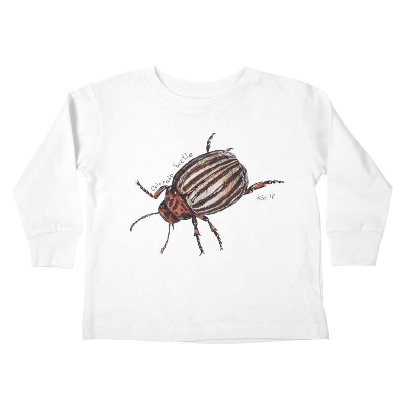 Colorado beetle Kids Toddler Longsleeve T-Shirt by kouzza's Artist Shop