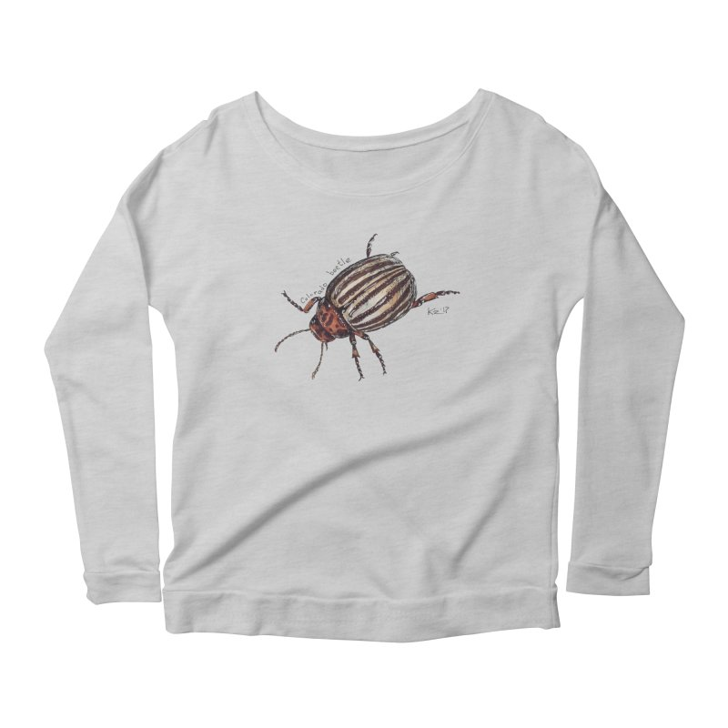 Colorado beetle Women's Longsleeve T-Shirt by kouzza's Artist Shop