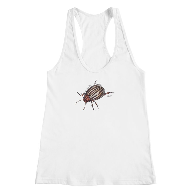 Colorado beetle Women's Racerback Tank by kouzza's Artist Shop