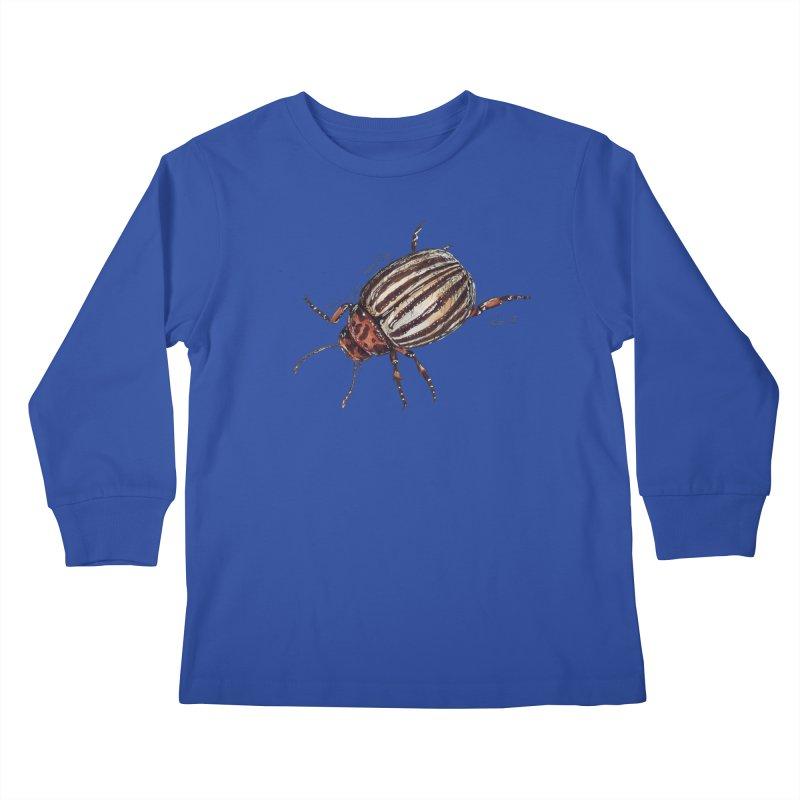 Colorado beetle Kids Longsleeve T-Shirt by kouzza's Artist Shop