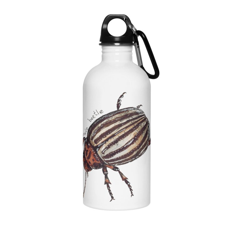 Colorado beetle Accessories Water Bottle by kouzza's Artist Shop