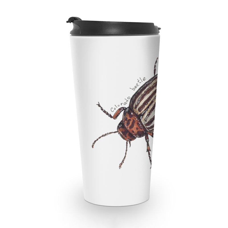 Colorado beetle Accessories Travel Mug by kouzza's Artist Shop