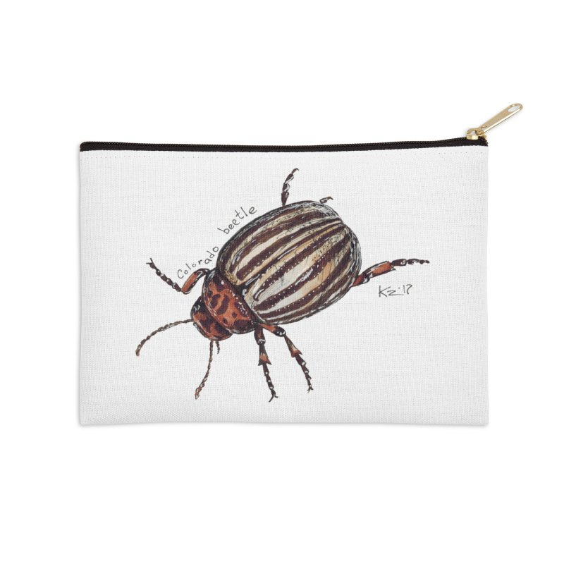 Colorado beetle Accessories Zip Pouch by kouzza's Artist Shop