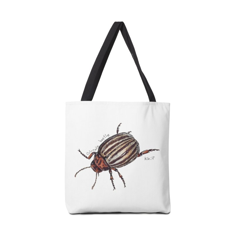 Colorado beetle Accessories Tote Bag Bag by kouzza's Artist Shop