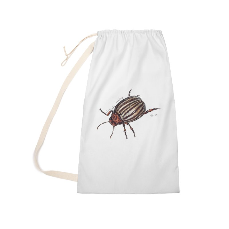 Colorado beetle Accessories Bag by kouzza's Artist Shop