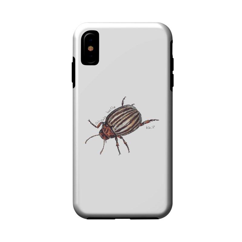 Colorado beetle Accessories Phone Case by kouzza's Artist Shop
