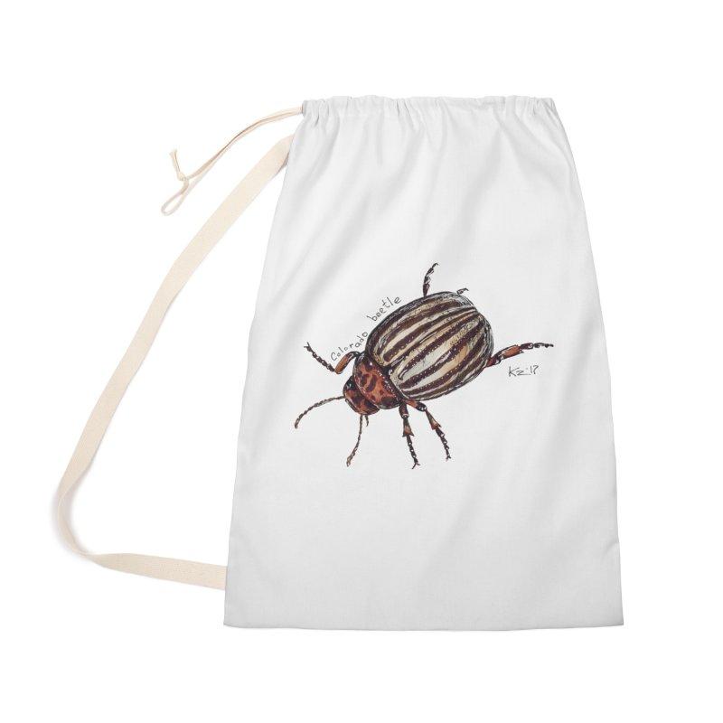 Colorado beetle Accessories Bag by kouzza's Artist Shop