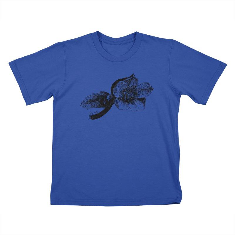 Flower1 Kids T-Shirt by kouzza's Artist Shop