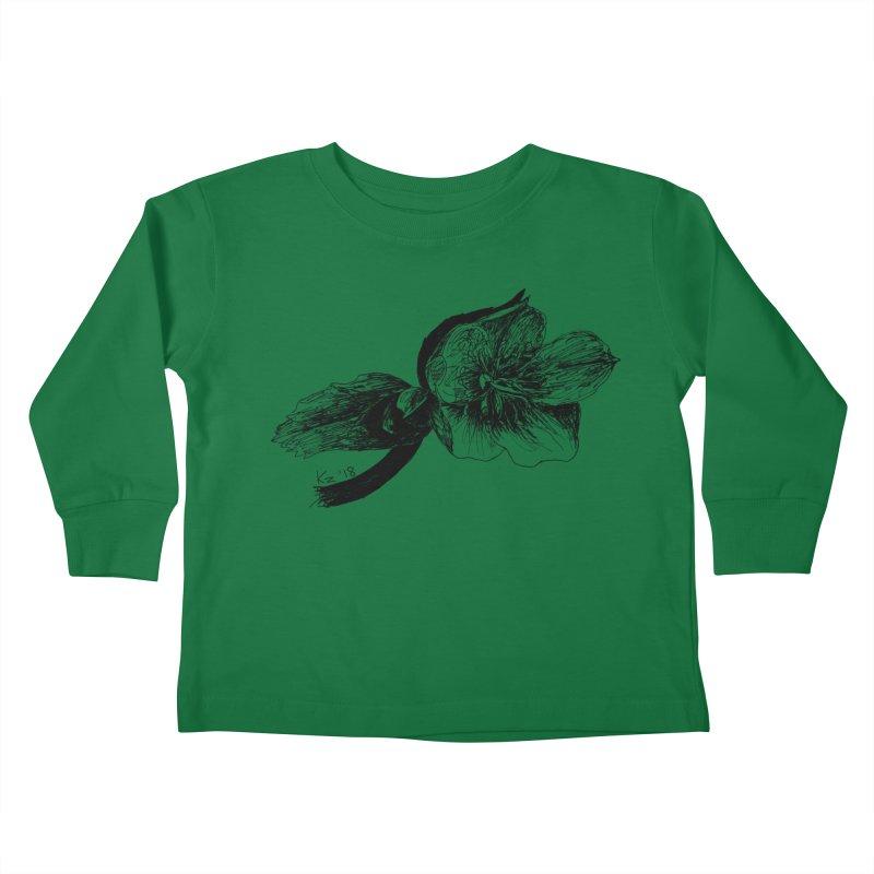 Flower1 Kids Toddler Longsleeve T-Shirt by kouzza's Artist Shop