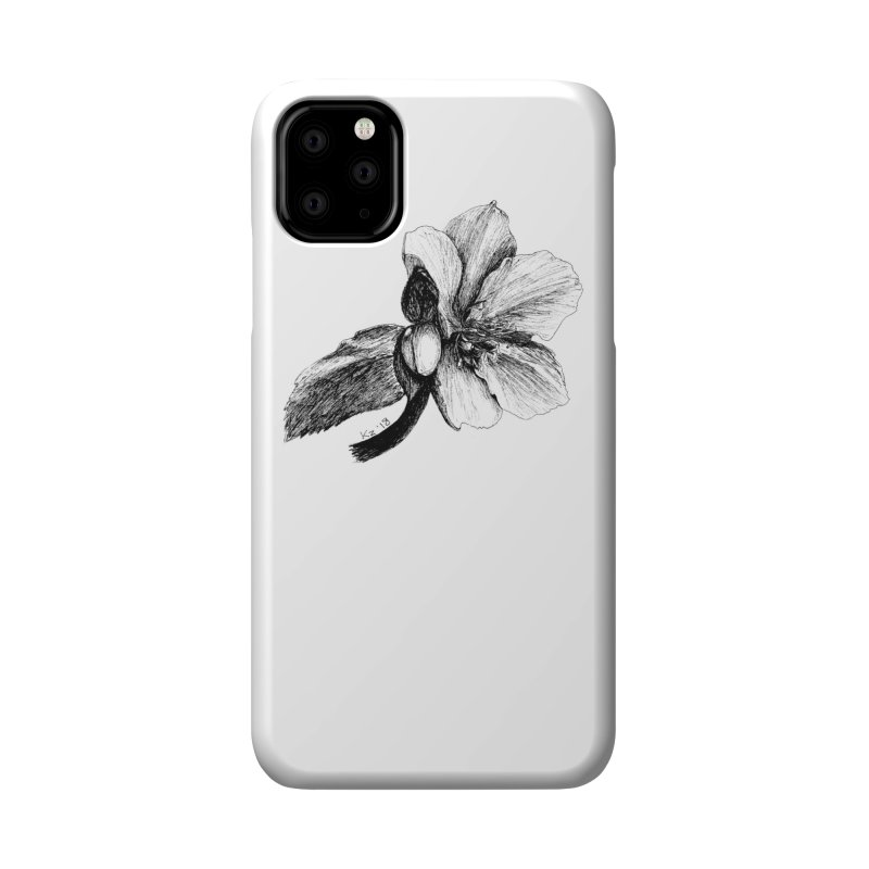 Flower T-shirt Accessories Phone Case by kouzza's Artist Shop