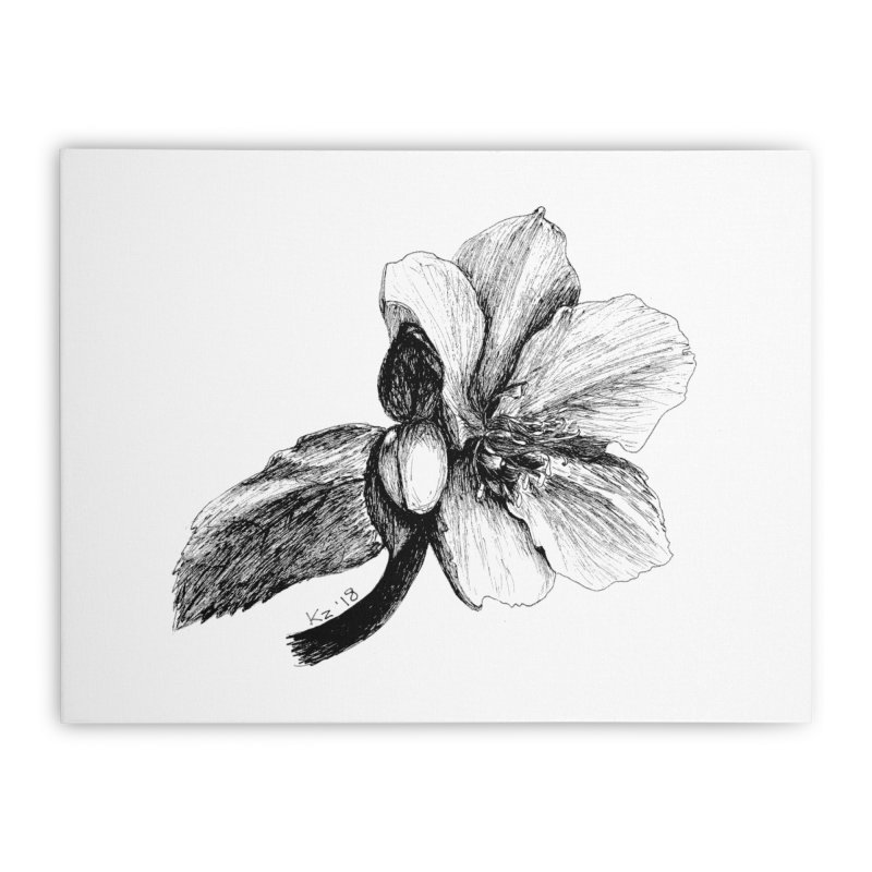 Flower 2 Home Stretched Canvas by kouzza's Artist Shop