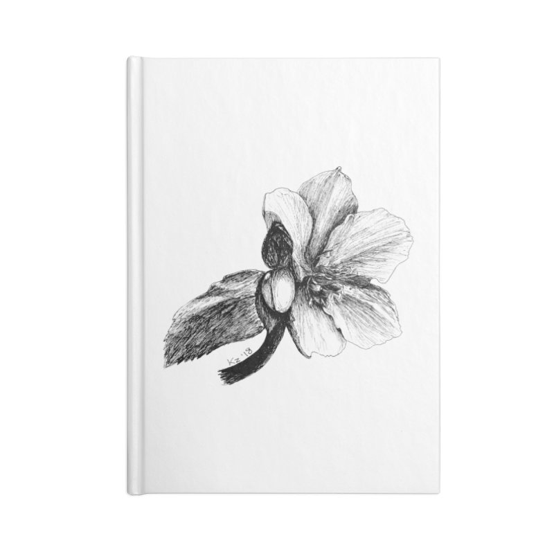 Flower T-shirt Accessories Blank Journal Notebook by kouzza's Artist Shop