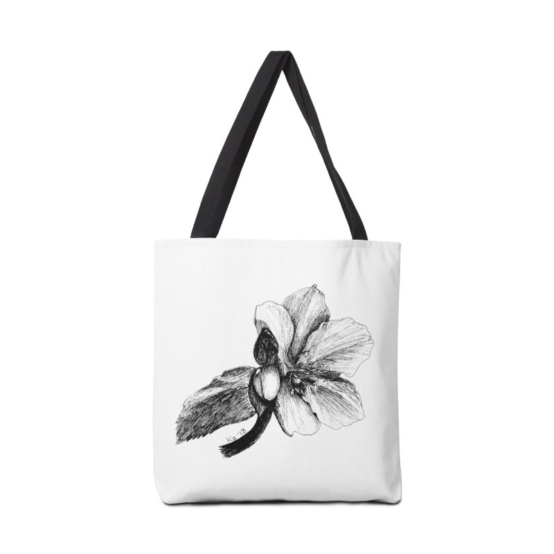 Flower T-shirt Accessories Bag by kouzza's Artist Shop