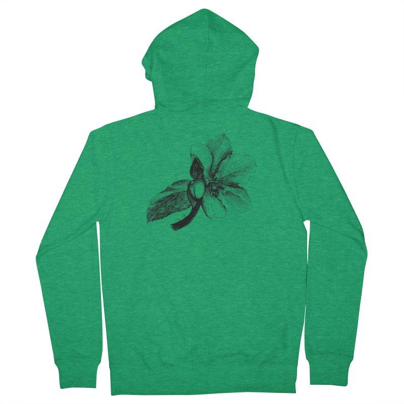 Flower T-shirt Women's Zip-Up Hoody by kouzza's Artist Shop