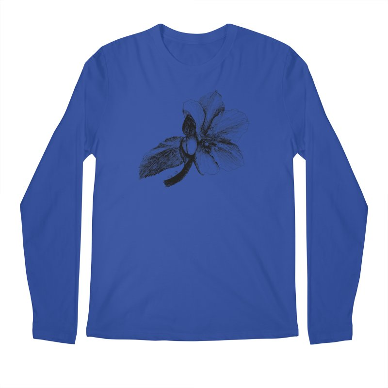 Flower T-shirt Men's Regular Longsleeve T-Shirt by kouzza's Artist Shop