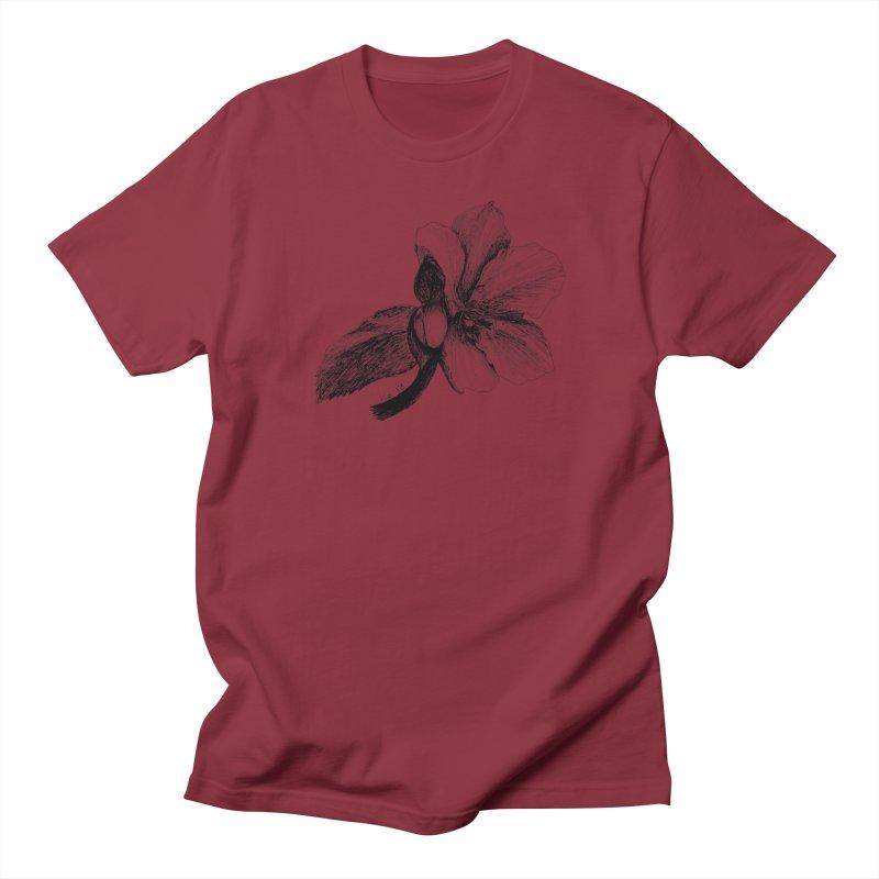Flower T-shirt Women's Regular Unisex T-Shirt by kouzza's Artist Shop