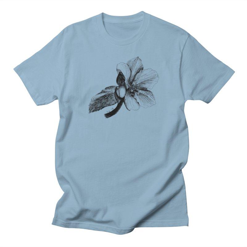 Flower T-shirt Men's Regular T-Shirt by kouzza's Artist Shop