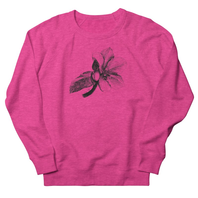 Flower 2 Women's French Terry Sweatshirt by kouzza's Artist Shop