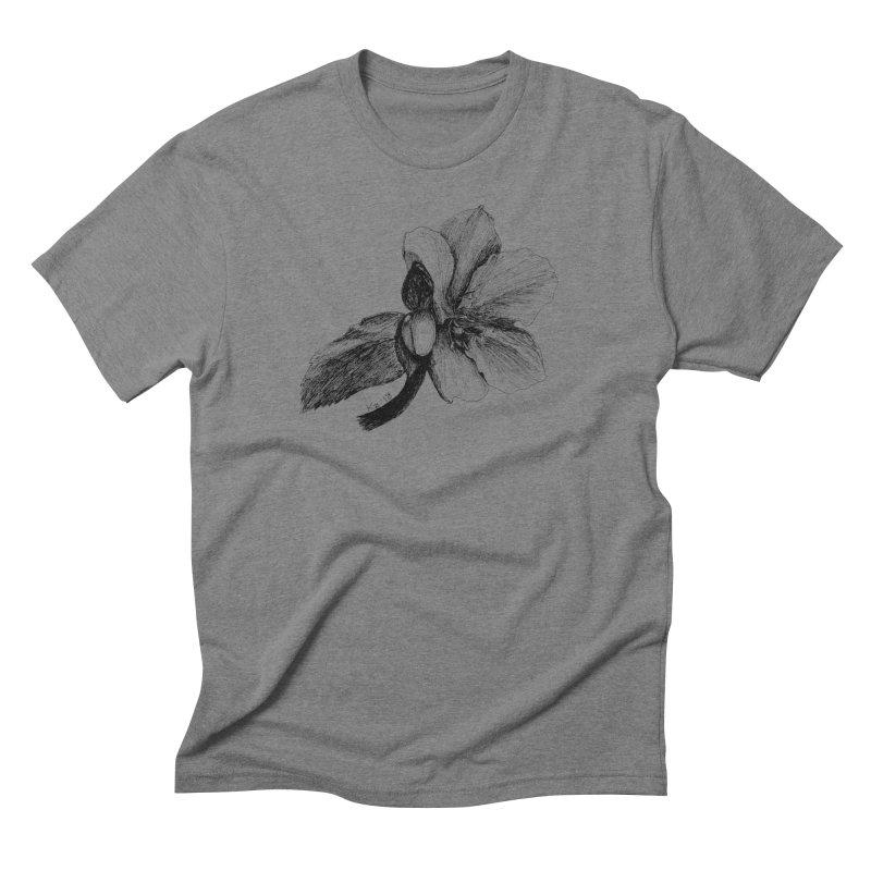 Flower 2 Men's Triblend T-Shirt by kouzza's Artist Shop