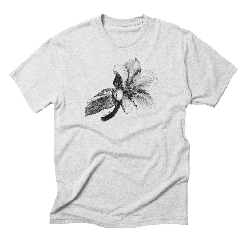Flower T-shirt Men's Triblend T-Shirt by kouzza's Artist Shop