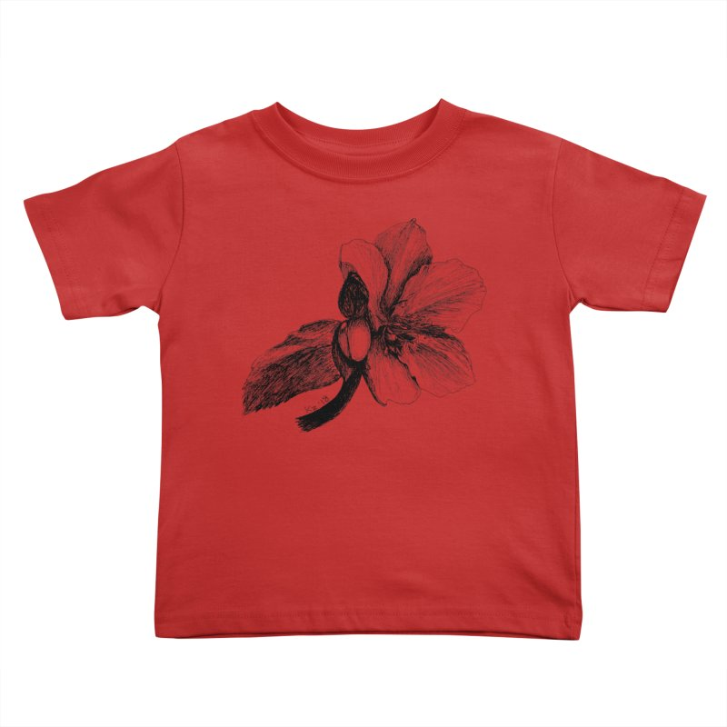 Flower T-shirt Kids Toddler T-Shirt by kouzza's Artist Shop