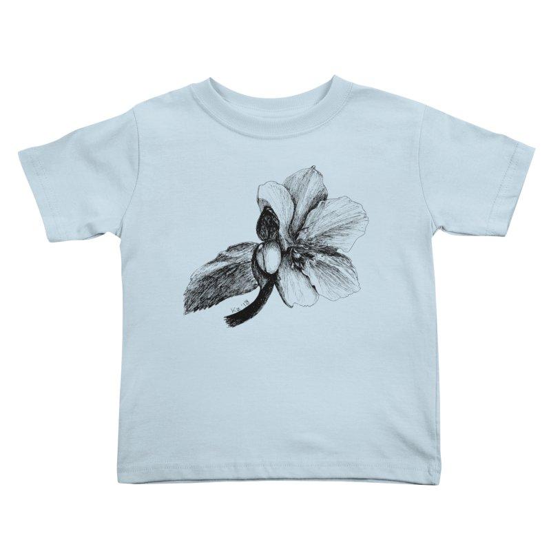 Flower T-shirt Kids Toddler T-Shirt by kouzza's Artist Shop