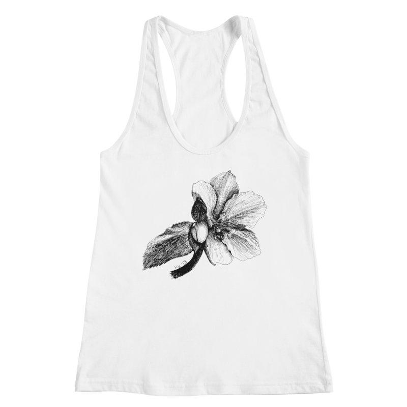 Flower T-shirt Women's Tank by kouzza's Artist Shop