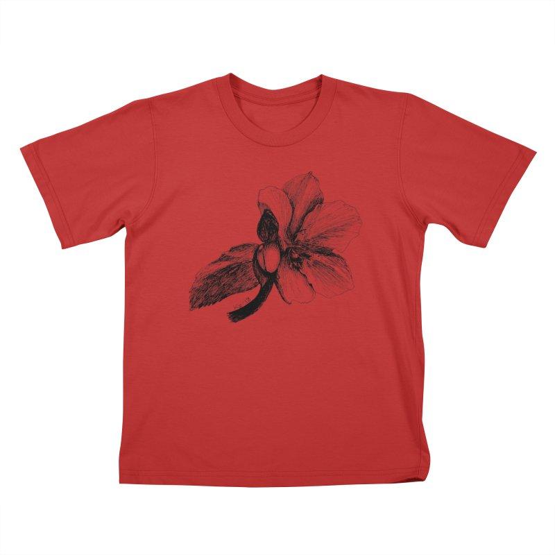 Flower T-shirt Kids T-Shirt by kouzza's Artist Shop