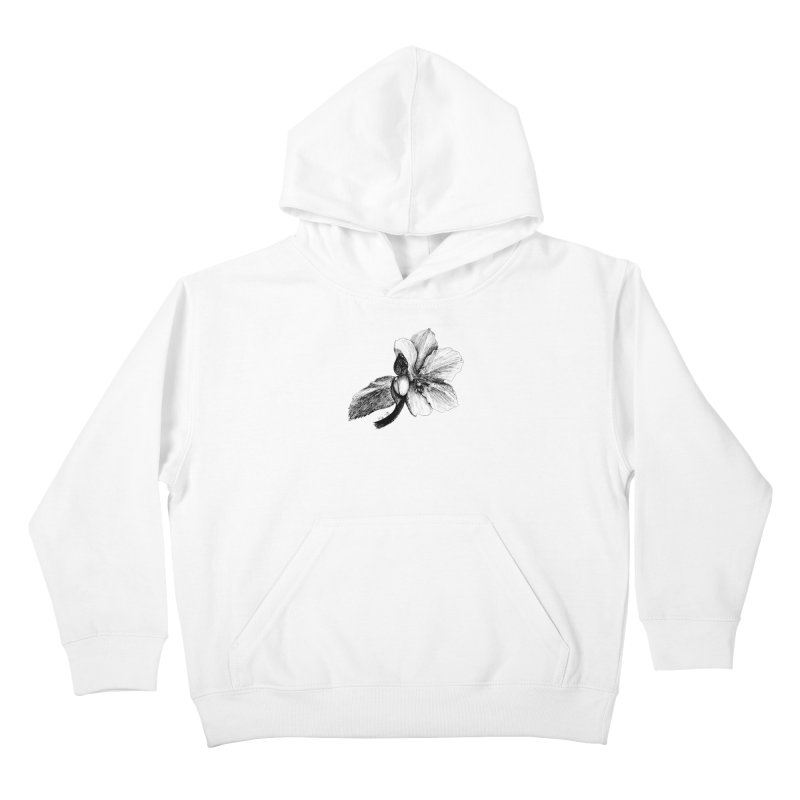 Flower T-shirt Kids Pullover Hoody by kouzza's Artist Shop