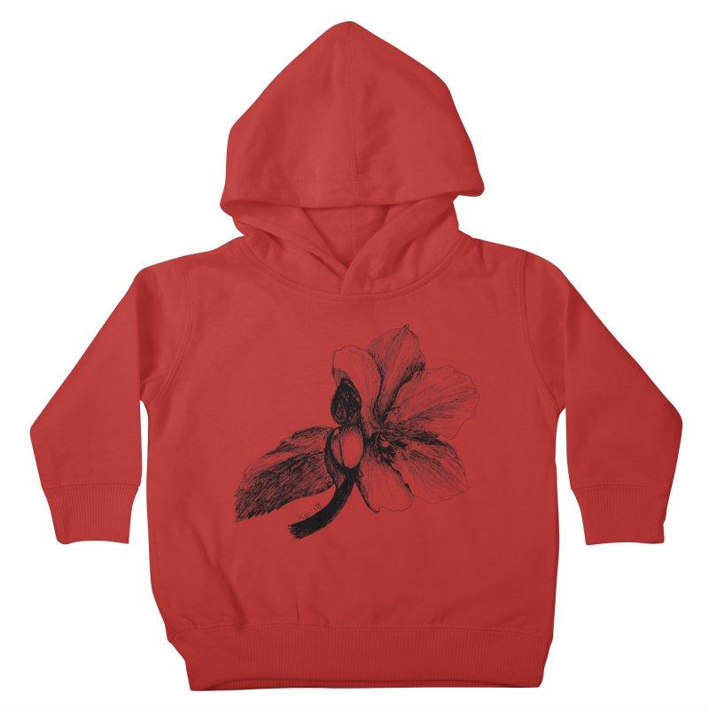 Flower T-shirt Kids Toddler Pullover Hoody by kouzza's Artist Shop