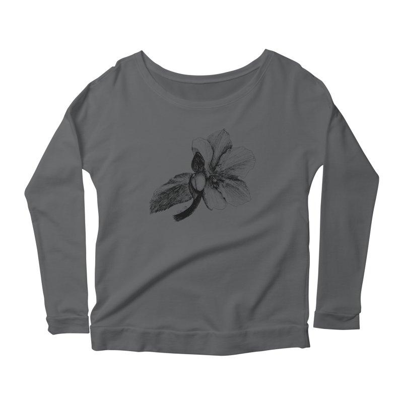 Flower T-shirt Women's Longsleeve T-Shirt by kouzza's Artist Shop