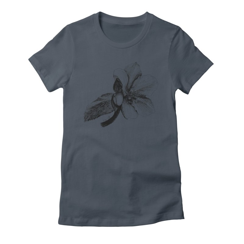 Flower T-shirt Women's T-Shirt by kouzza's Artist Shop