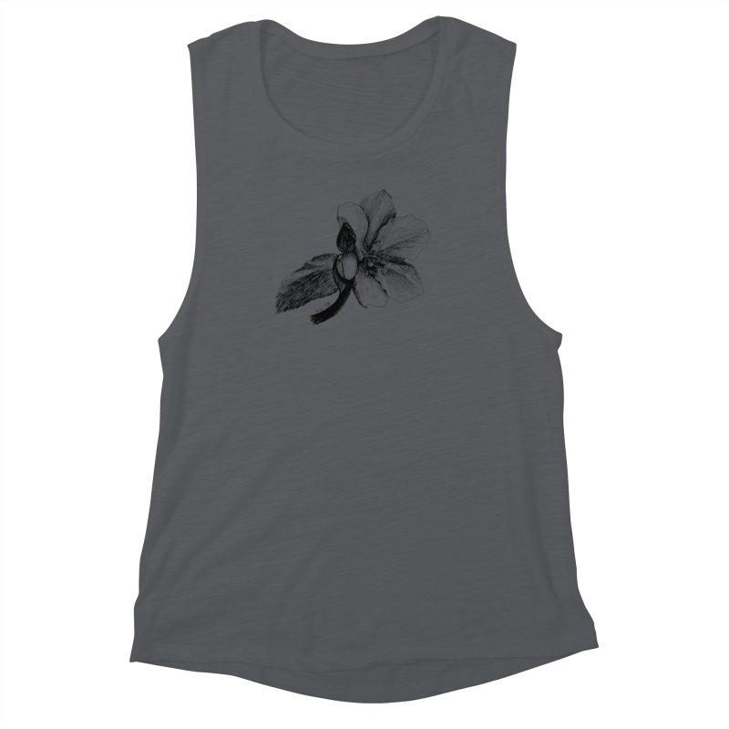 Flower T-shirt Women's Muscle Tank by kouzza's Artist Shop