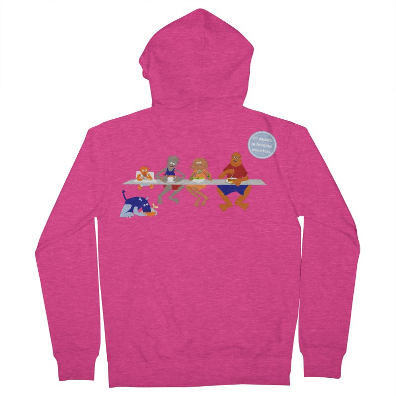 Mom - expert in feeding monsters Women's Zip-Up Hoody by kouzza's Artist Shop