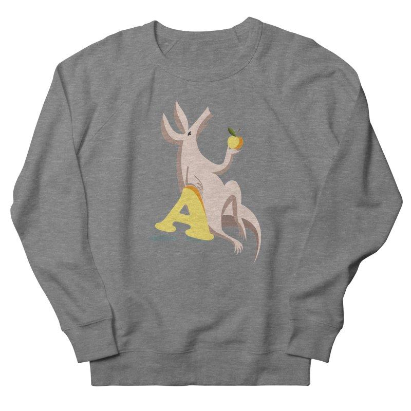 Aardvark and apple (To eat or not to eat) Women's Sweatshirt by kouzza's Artist Shop