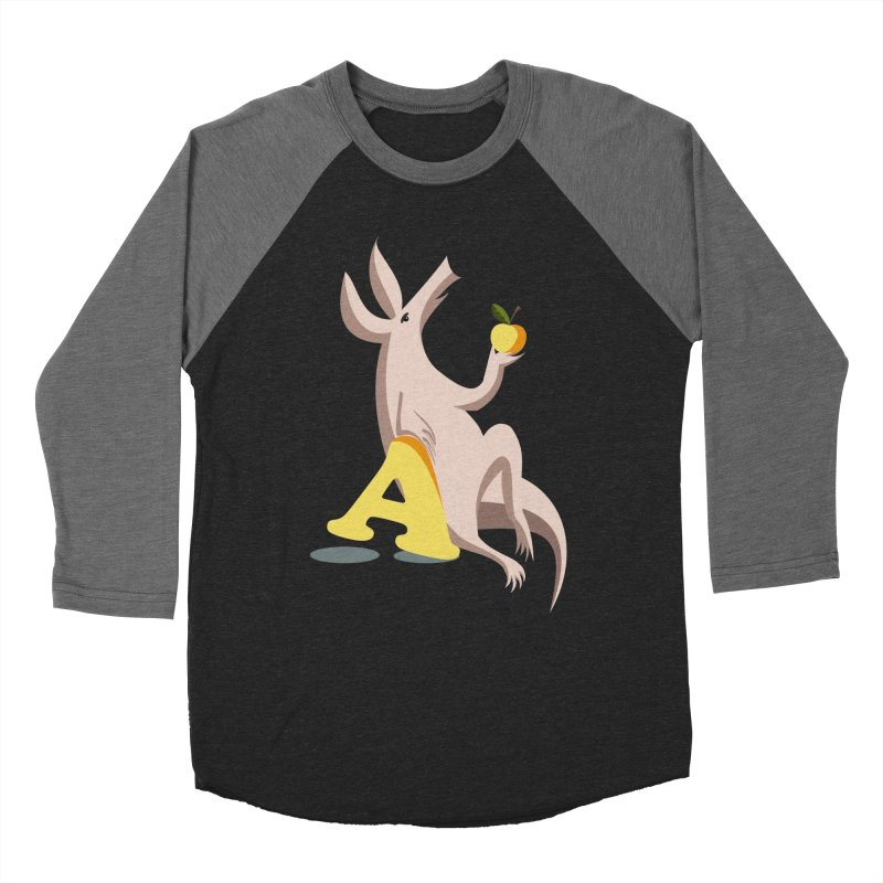 Aardvark and apple (To eat or not to eat) Women's Longsleeve T-Shirt by kouzza's Artist Shop