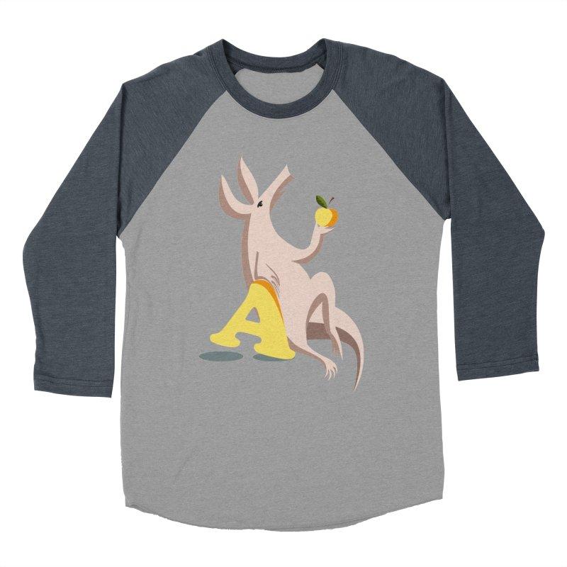 Aardvark and apple (To eat or not to eat) Women's Longsleeve T-Shirt by kouzza's Artist Shop