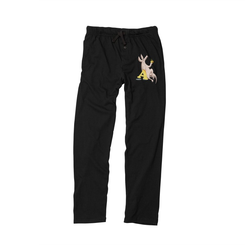 Aardvark and apple (To eat or not to eat) Women's Lounge Pants by kouzza's Artist Shop