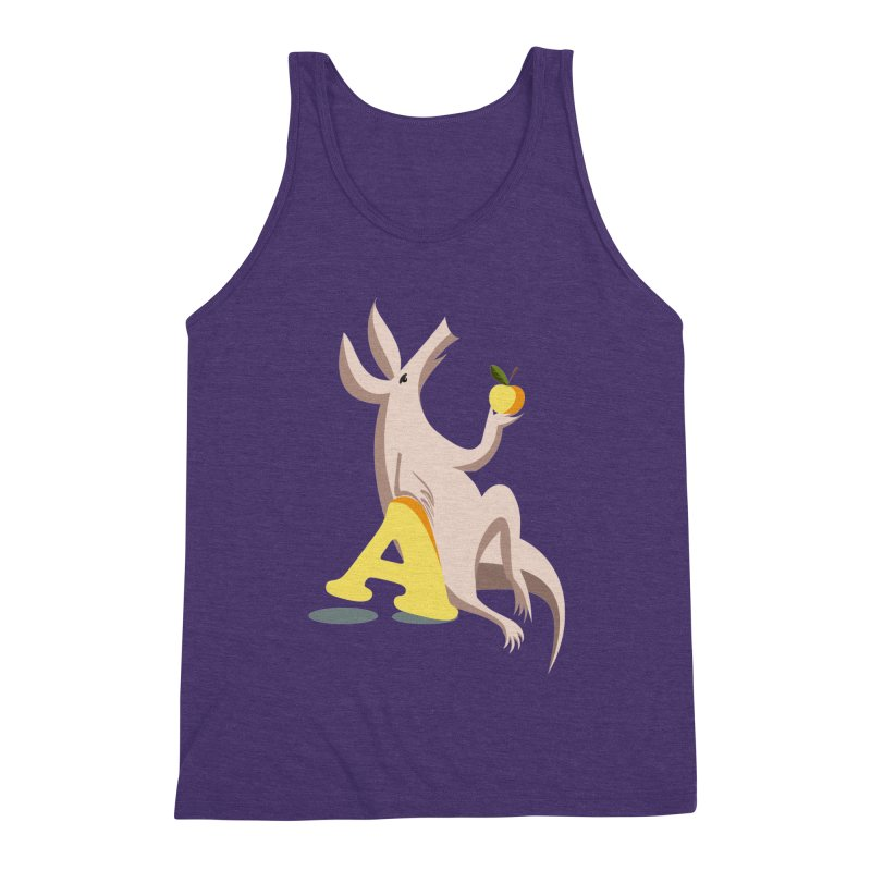 Aardvark and apple (To eat or not to eat) Men's Tank by kouzza's Artist Shop