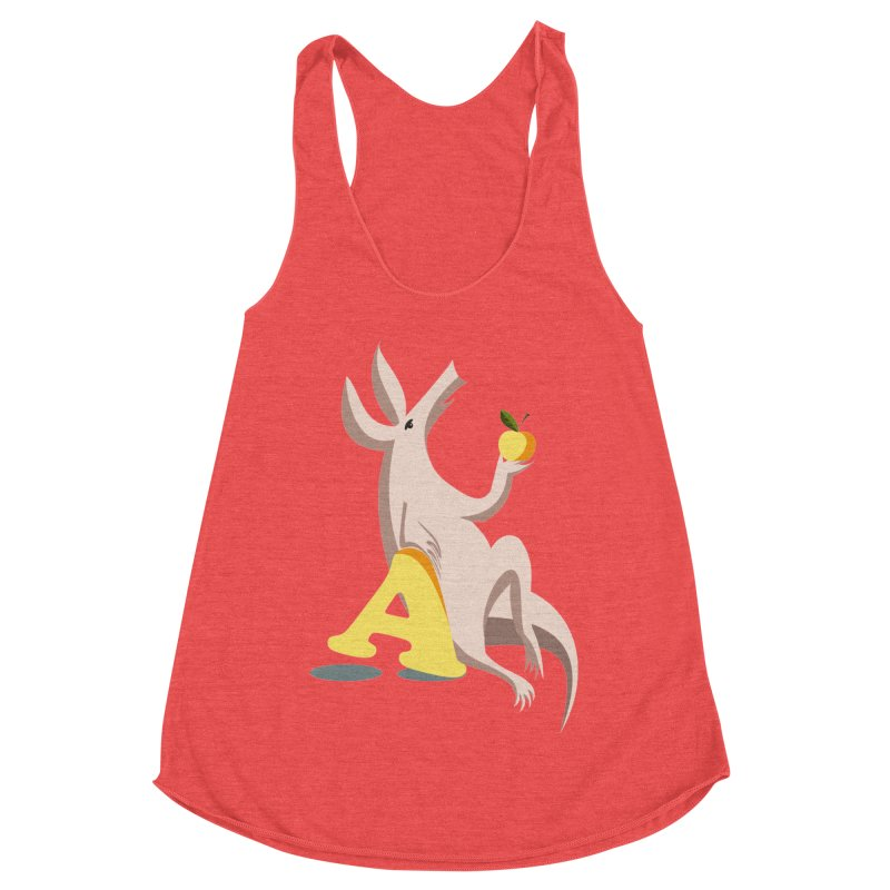 Aardvark and apple (To eat or not to eat) Women's Tank by kouzza's Artist Shop