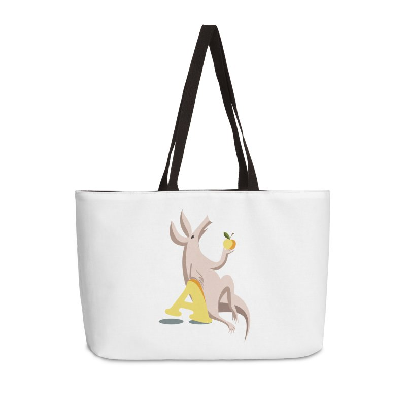 Aardvark and apple (To eat or not to eat) Accessories Bag by kouzza's Artist Shop