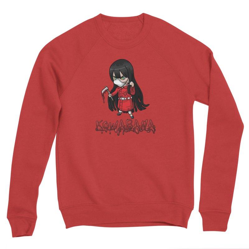 Kuchisake-onna Women's Sponge Fleece Sweatshirt by Kowabana's Artist Shop